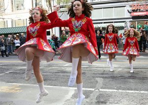 St Pats Day dancers