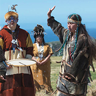 Alaska Native Day at Fort Ross