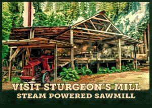 Sturgeons Mill Steam Sawmill