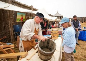Fort Ross Festival barrelmaker