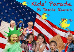 Healdsburg 4th July parade and duck race