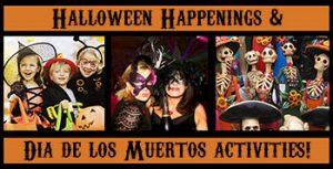 Halloween and Dia De Los Muertos activities