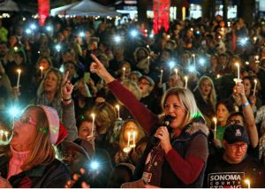 Winter Lights celebration in Santa Rosa