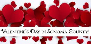 Valentine's Day events in Sonoma County