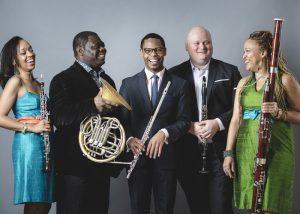 Imani Winds/Catalyst Quartet at Green Music Center
