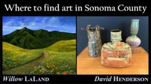 Art in Sonoma County in March