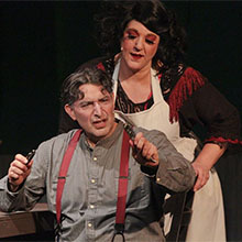 Sweeney Todd at 6th Street Playhouse