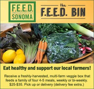 Feed Sonoma veggie boxes from local farmers