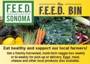 Farm boxes food supply Sonoma County