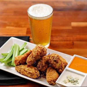 Wings and beer at Jackson's Bar and Oven in Santa Rosa.