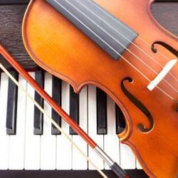 Piano and violin concert