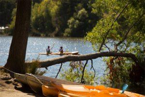 Kayak rental at Spring Lake Regional Park