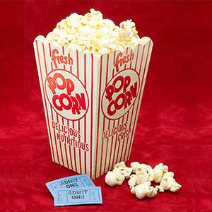 Rialto Cinemas popcorn