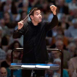 Santa Rosa Symphony Conductor Francesco Lecce-Chong.