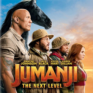 Jumanji at the drive-in