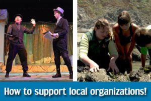 Support local organizations