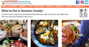 Sonoma County dining guide