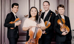 Calidore Quartet Green Music Center