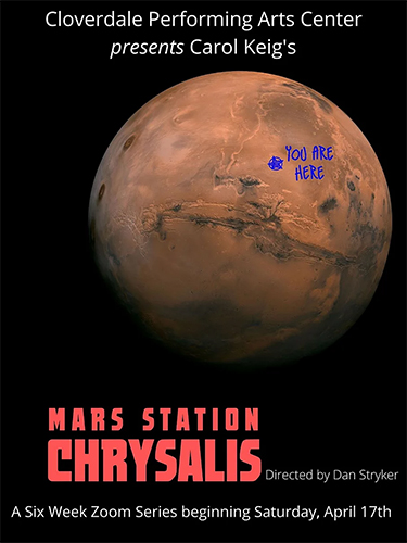 Mars Chrysalis Cloverdale Performing Arts Center
