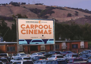Carpool Cinema at the Luther Burbank Center for the Arts