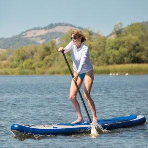 Paddleboard and kayak rentals at Spring Lake