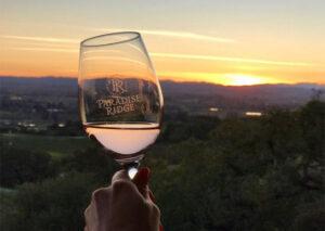 Wines & Sunsets at Paradise Ridge Winery