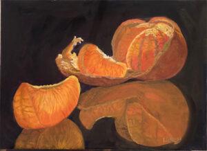 Artist Laura Roney Summers Bounty at Upstairs Gallery Healdsburg