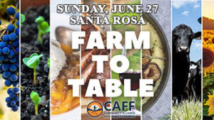 CAFF Farm to Table fundraiser at Americana