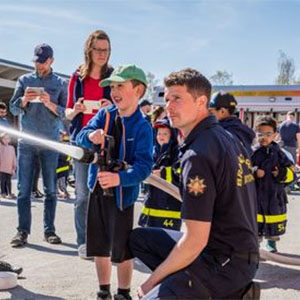 Fire Safety Expo in Cloverdale