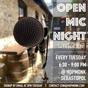 Open Mic at Hopmonk Sebastopol