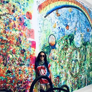 SVMA murals by Maria de Los Angeles.