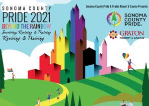 """Beyond The Rainbow"" Drive-Thru Sonoma County Pride Parade"