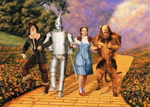 """Sonoma County Pride's """"Behind The Curtain"""" Wizard of Oz Sing-Along & Dinner"""
