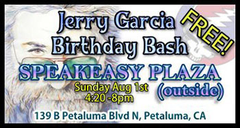 Jerry Garcia's B-Day Bash with Dead Bugs