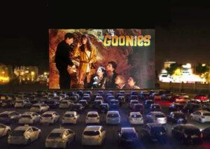 Goonies at the drive-in Petaluma