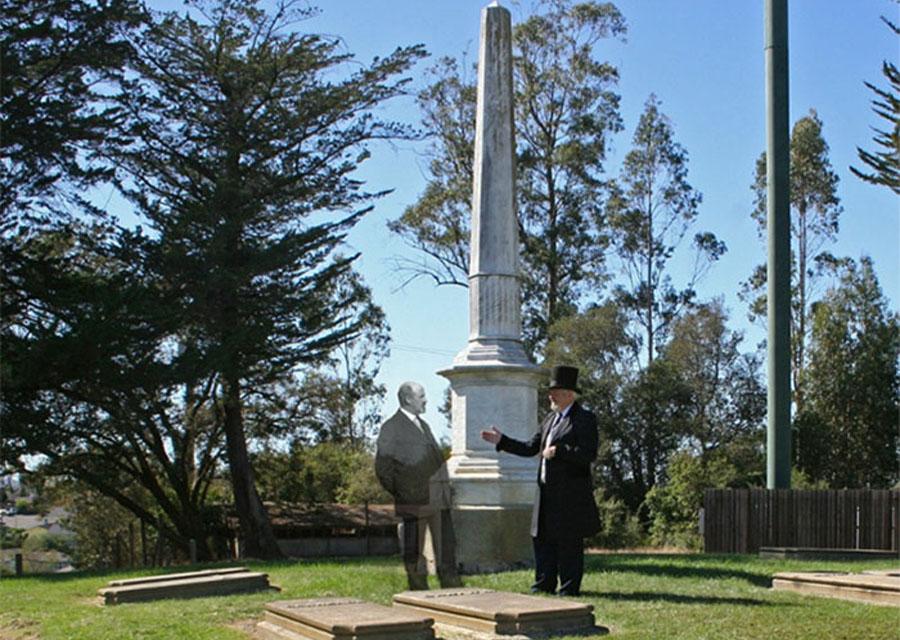 Cemetery Tour Petaluma