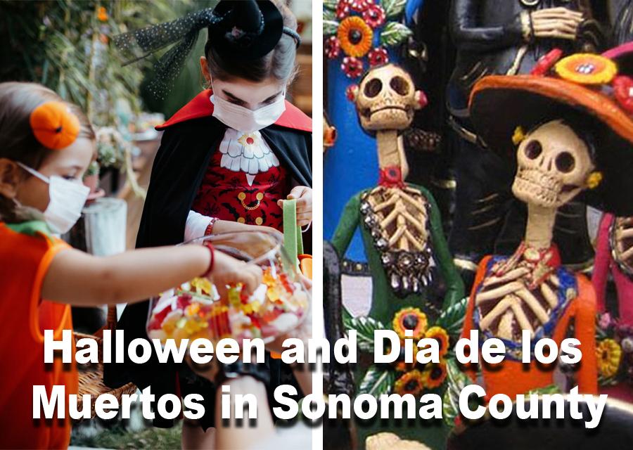 Halloween and Dia de los Muertos activities in Sonoma County
