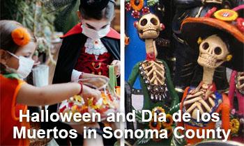 Halloween and Día de los Muertos in Sonoma County