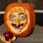 Healdsburg Pumpkin Fest Kelly Grimsley carving
