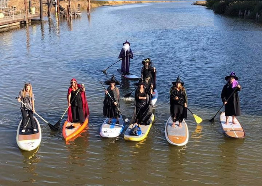 Witches & Wizards on The Water on The Petaluma River